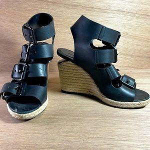 Alexander Wang Block-Heel Sandals buckles size 40